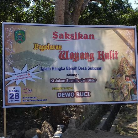 Bersih Desa Sukosari Kami